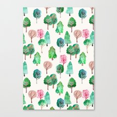 Little Trees Canvas Print