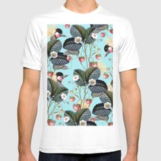 Strawberry Brush Hide-Out #society6 #decor #buyart White MEDIUM Mens Fitted Tee