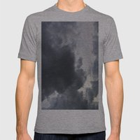 Calm Before the storm Mens Fitted Tee Athletic Grey SMALL