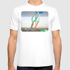 Holodeck Mens Fitted Tee SMALL White