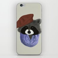Hip Raccoon iPhone & iPod Skin