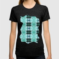 Underwater Delight Womens Fitted Tee Tri-Black SMALL