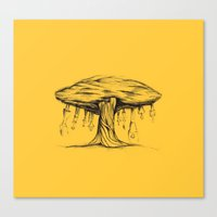 The tree of Immaturity Canvas Print