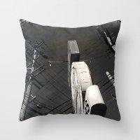 The Wizz Take 2, Black A… Throw Pillow