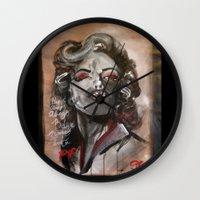 Marilyn Monroe XOXO Wall Clock