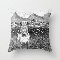 Sami fox Throw Pillow