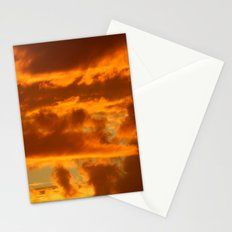 Clouds of Gold Stationery Cards