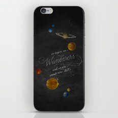 Wanderers - Carl Sagan iPhone & iPod Skin