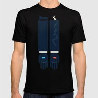 The Matrix The Blue Pill… Mens Fitted Tee Black SMALL