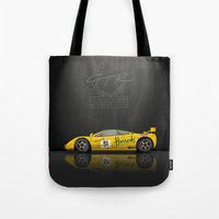 1995 McLaren F1 GTR Le M… Tote Bag