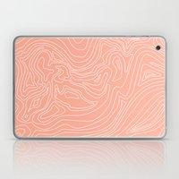 Ocean depth map - coral Laptop & iPad Skin