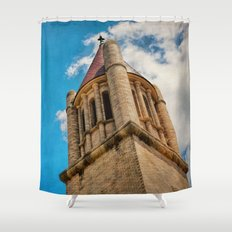 Piercing the Sky Shower Curtain