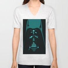 Tron Darth Vader Outline Unisex V-Neck