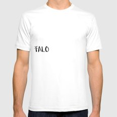 This is Buffalo SMALL Mens Fitted Tee White