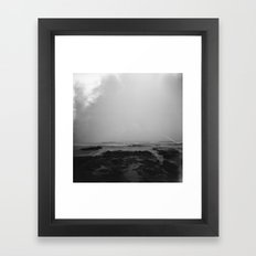 oregon coast . holga Framed Art Print