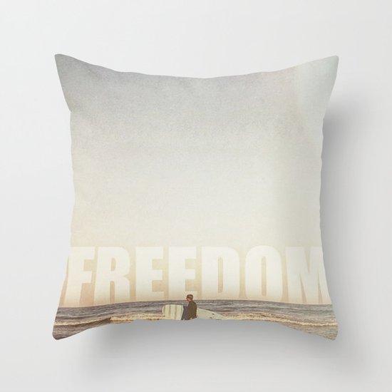Freedom Throw Pillow