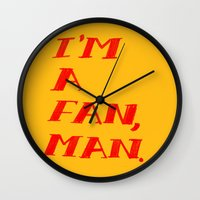 I'm A Fan, Man. Wall Clock