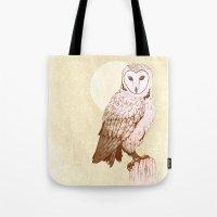 Barn Owl recolour Tote Bag