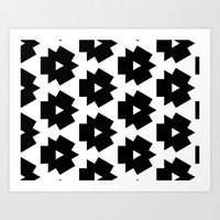 Meijer Black & White Art Print