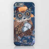 Owl and baby owlet iPhone 6 Slim Case
