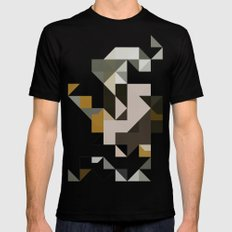 color story - primordial  Mens Fitted Tee SMALL Black