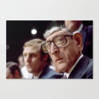 Coach Wooden Canvas Print