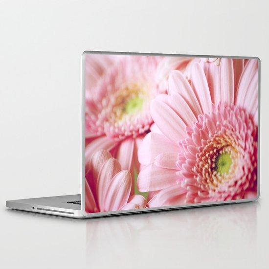 Pink Gerbera Dream Laptop & iPad Skin
