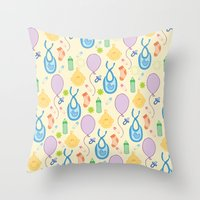 baby baby Throw Pillow