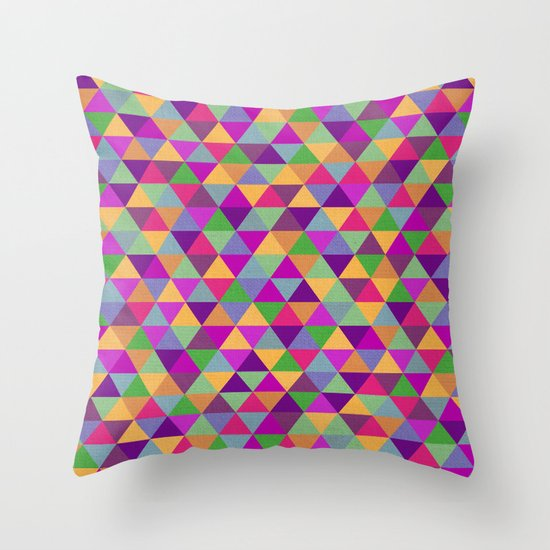 In Love with ▲ Throw Pillow