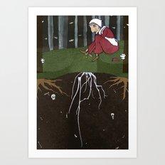Baba Yaga: Life Art Print
