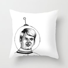who have I become? Throw Pillow