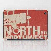 North by Northwest - Alfred Hitchcock Movie Poster iPad Case