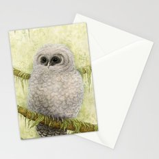 Northern Spotted Owls Stationery Cards