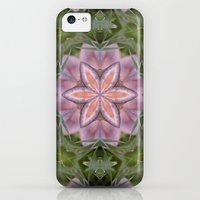 iPhone Cases featuring Beautiful fungi kaleidoscope by Wendy Townrow