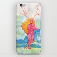 On the Nature of Spirits: Flora iPhone & iPod Skin