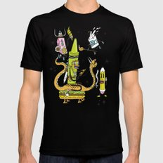 The Great Doodle Warriors SMALL Mens Fitted Tee Black