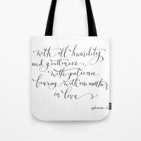 Bearing in Love Tote Bag