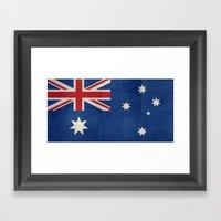 Australian Flag, Retro