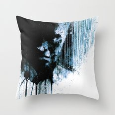 The Visitor #3 Throw Pillow