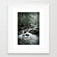 Refreshing Framed Art Print