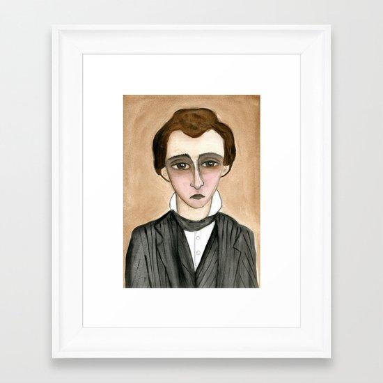 Lucian Framed Art Print
