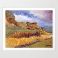 Road to Leyden Art Print