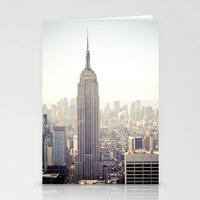 New York City, Empire St… Stationery Cards