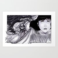 BounD: Natalia and Seth Art Print