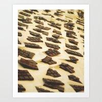 Chocolate En Sant Antoni Art Print