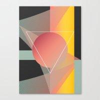 Objectum Canvas Print