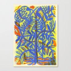 neon botanical Canvas Print