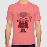 THOR ROBOTIC Mens Fitted Tee Pomegranate SMALL