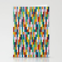 Bricks Rotate #2 Stationery Cards