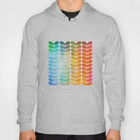 Colorful Leaves from Blue to Orange Hoody